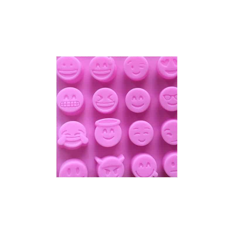 Moule silicone smileys
