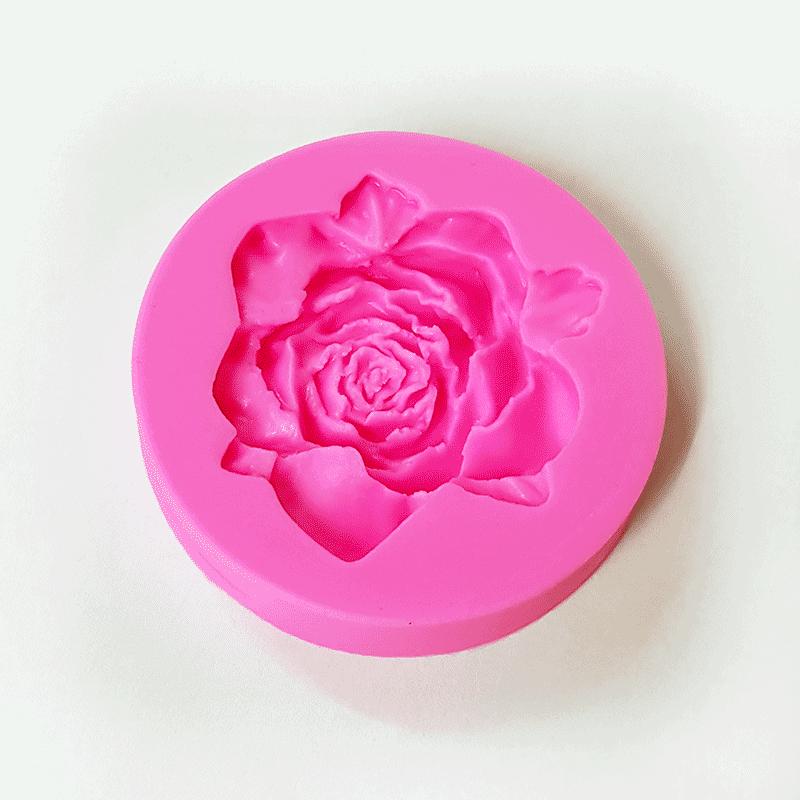 Moule silicone rose