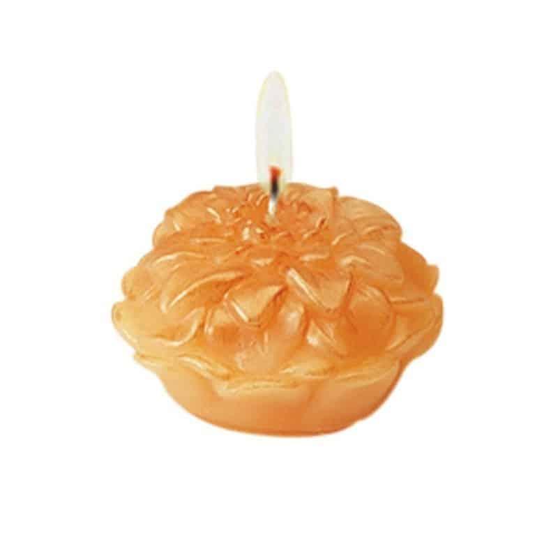 Dahlia - Moule en latex pour bougies