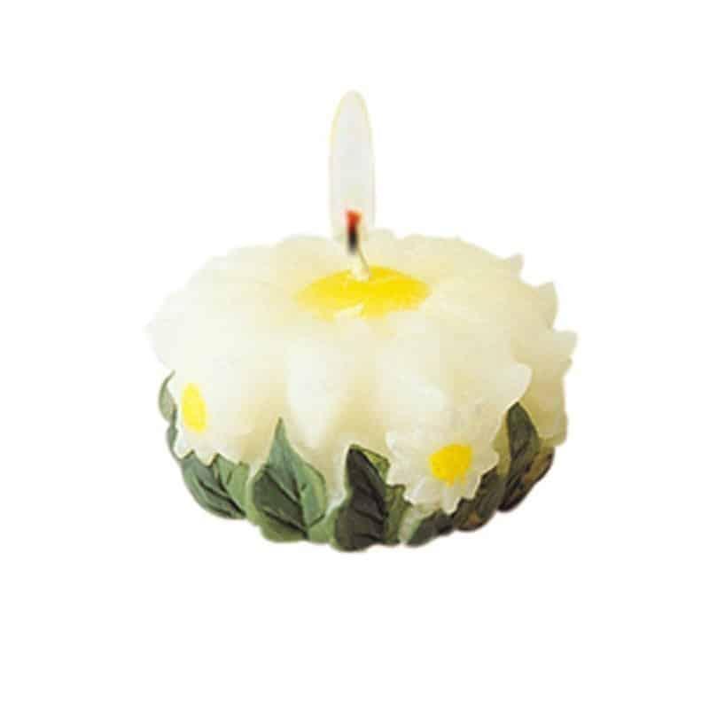 Marguerite - Moule en latex pour bougies
