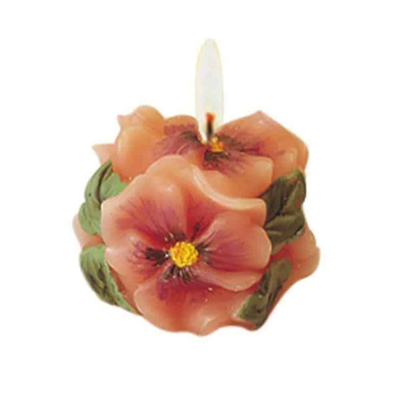 Pensée - Moule en latex pour bougies
