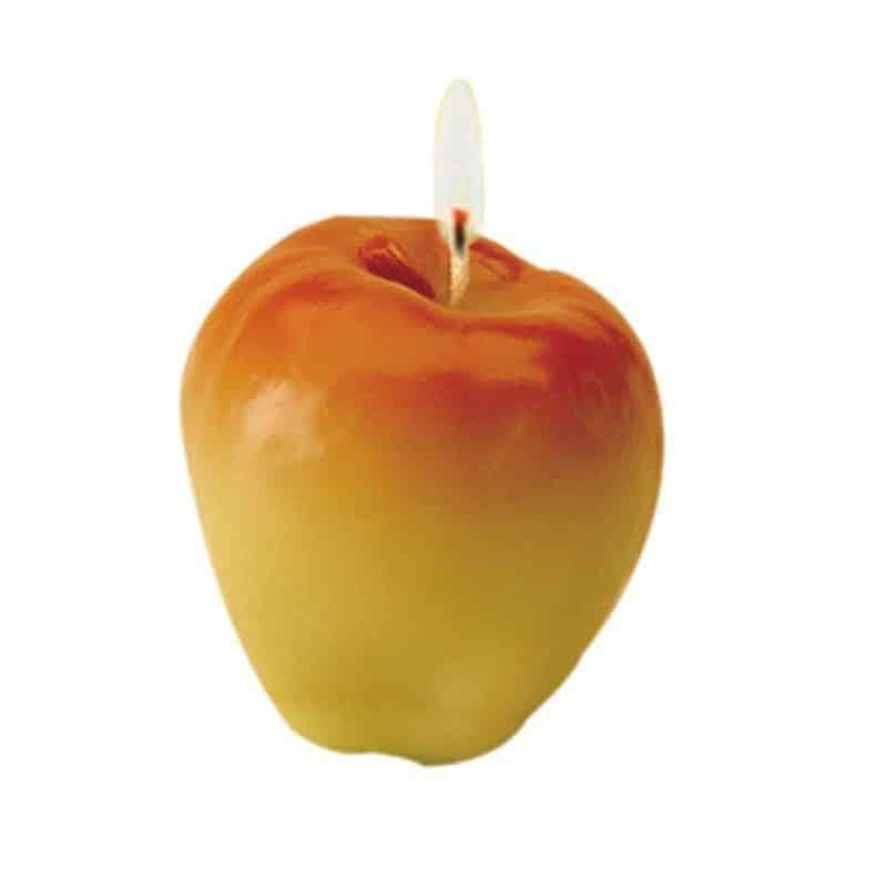 Pomme - Moule en latex pour bougies